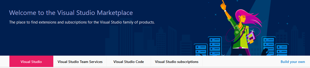 Visual Studio MarketPlace
