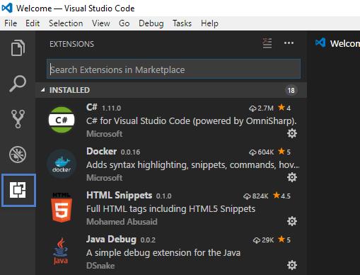 Extensão para SQL Server no Visual Studio Code