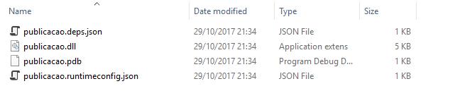 Gerando um arquivo EXE com .NetCore