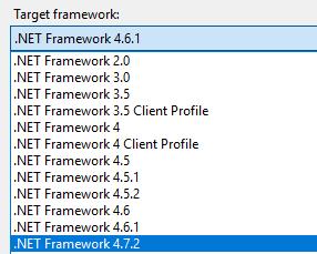 Qual é a versão do framework de um EXE ou DLL ?
